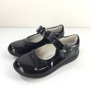 Stride Rite Girls 12.5 M Black Patent Leather Mary